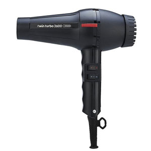 Turbo Power Twin Turbo 2600 Hair Dryer Review - 4 Temperatures