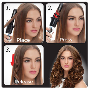 Kiss Products Instawave Automatic Hair Curler Review