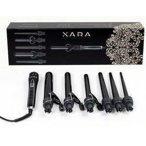 XARA 6 in 1 Professional Ceramic Curling Iron Set Review