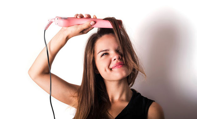 flat iron for fine hair