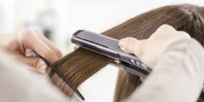 Ceramic or Titanium Flat iron featured