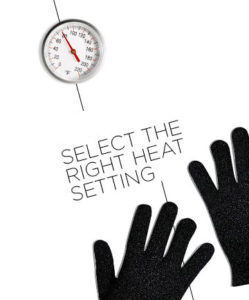 right heating settings